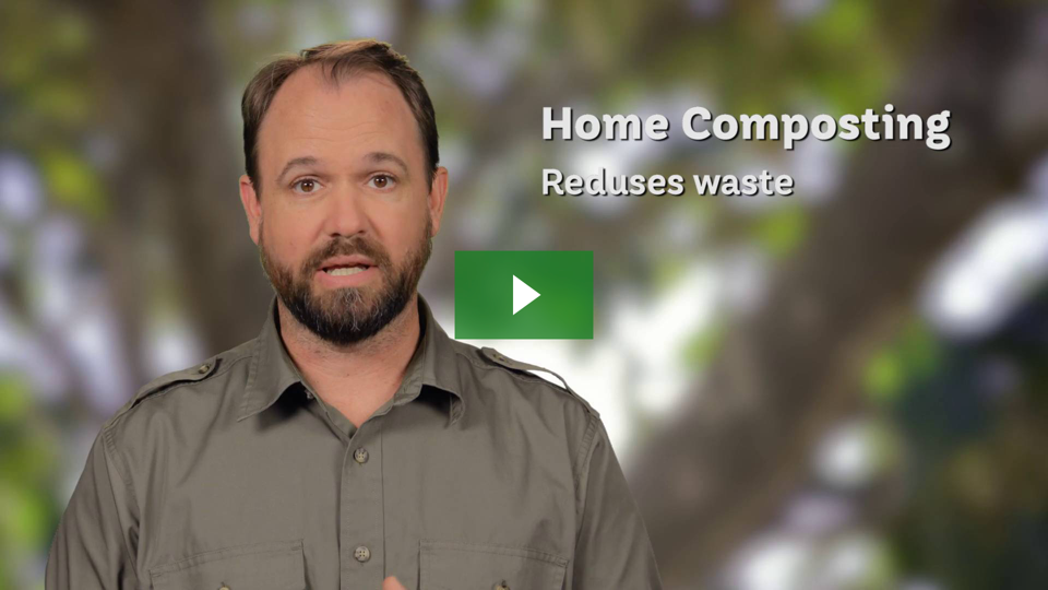 Find out why home composting is smart
