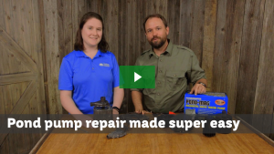 Pond pump repair made easy