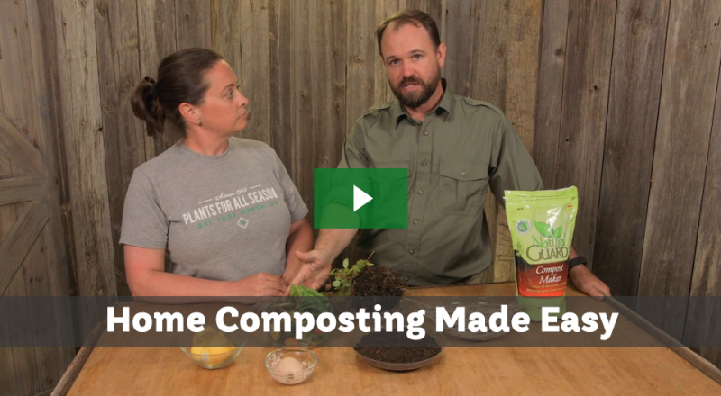 Composting Made Easy In Two Steps