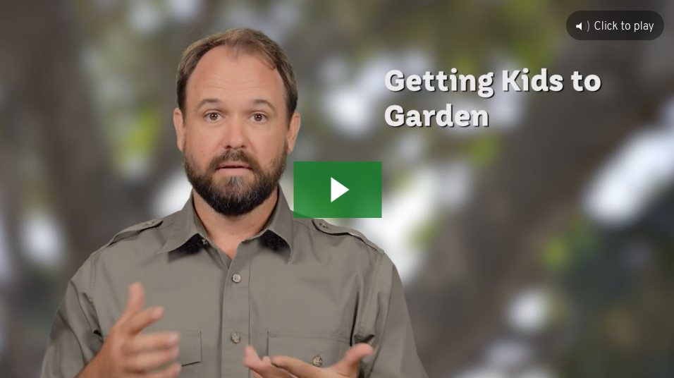 Getting Kids to Garden