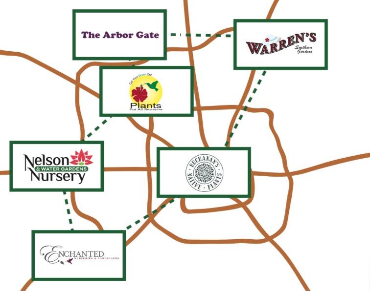 Map of Garden Pros