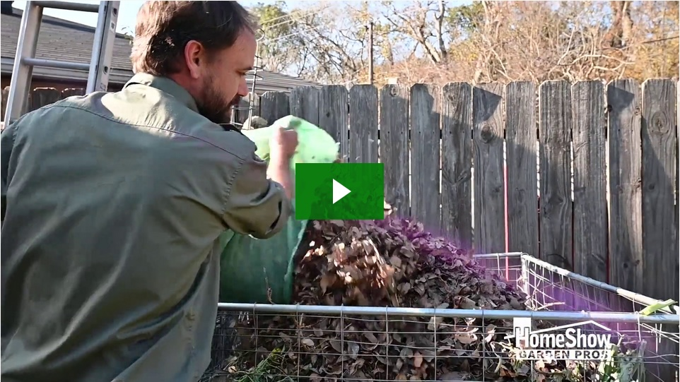 how to get rid of the compost smell